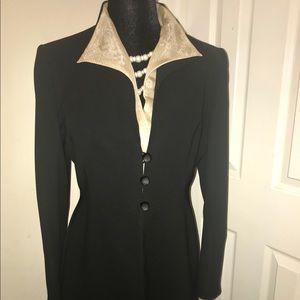 SagHarbor Black & Gold Suit